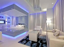 ceiling and lighting design. image of bedroom ceiling lights blue and lighting design