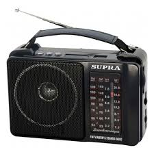 <b>Радиоприемник SUPRA ST-18U</b>, черный — купить в интернет ...