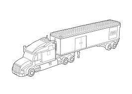 Small Picture Lego truck coloring page for kids printable free Lego coloring