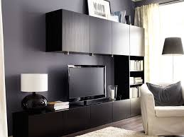 tv stand ikea black. sophisticated black ikea entertainment center with recessed lighting over tv stand n