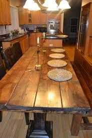 Handmade Wood Dining Table Custom Wood Dining Tables
