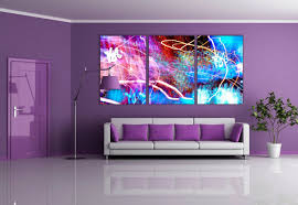 Small Picture purple wall paint living room furniture decor ideas YouTube