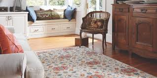 capel rugs example surrounded by furniture
