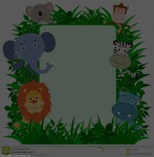 jungle animals border clipart. Fine Animals Jungle Clip Art Throughout Animals Border Clipart L