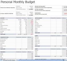 Personal Budget Plan Template Personal Monthly Budget Planning Miiight Be A Good Idea