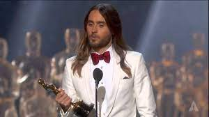 Jared Leto winning Best Supporting ...