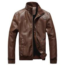 mens pu jackets coats motorcycle leather jacket men autumn spring faux leather clothing male casual clothes
