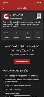 Cinemark Seating Chart Cinemark Movie Club Is A Great Subscription For Occasional