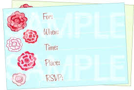 Birthday Invite Ecards Kids Birthday Invitation Cards Online Z Cute Floral Invitation Maker