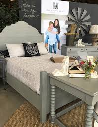 Joanna Gaines Shiplap bed from Magnolia Home at Toms Price
