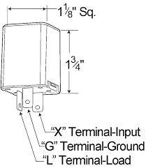 44892 3 pin flasher, north american (jso) pinout 3 Prong Led Flasher Schematic grote industries 44892 3 pin flasher, north american (jso) pinout Plug in LED Flasher Kit