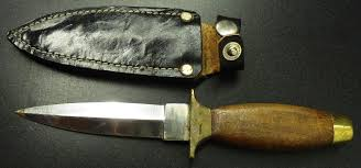 Locate the companies on a map. Pakistan Made Boot Knife With Sheath Ron Peterson Antiques