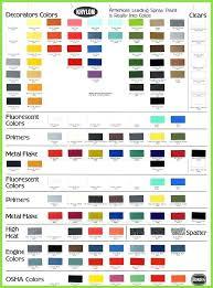 Krylon Spray Paint Color Chart Krylon Fusion Spray Paint Color Chart Best Picture Of
