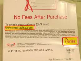 gallery of vanilla visa gift card check