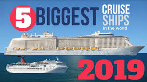 Worlds 5 Largest Cruise Ships In 2019 The Muster Station