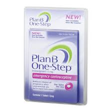 Birth Control With Plan B Plan B One Step Emergency Contraceptive 1 Tablet 1 5 Mg
