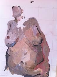 saatchi art artist thomas evans painting jenny saville art