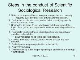 Sociological Research Sociological Research Methods And Techniques Ppt Video
