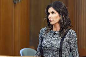 Noem defends forgoing masks as virus surges