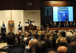 the scream sells for nearly 120 million at sotheby s auction the new york times