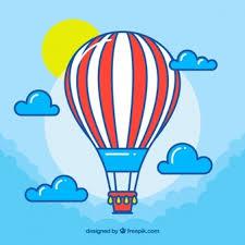 hot air balloon image.  Air Hot Air Balloon Background With Sky Inside Air Balloon Image
