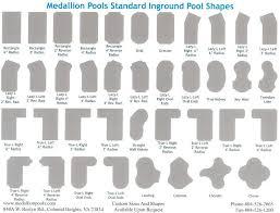 inground pools shapes. Shapes Inground Pools C