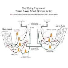 How To Replace A Light Switch With A Dimmer 3 Way Smart Dimmer Switch For Dimmable Led Lights Tessan Com