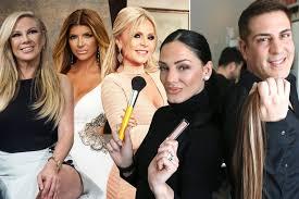 the real housewives dream team makeup artist priscilla distasio hair stylist julius michael