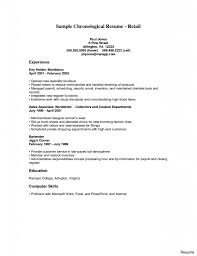 Resume Examples For Retail Horsh Beirut