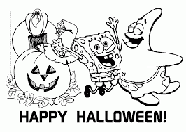 Children of all ages will have fun coloring these halloween themed pages of bats, ghosts, children dressed up for trick or treating, witches and more! Free Printable Halloween Disney Coloring Pages For Kids Coloring Home