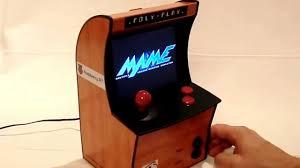 Raspberry Pi Game Cabinet Mini Arcade With Raspberry Pi And 56 Tft Youtube
