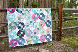 Petals and Patches, Fresh and New! - Color Girl Quilts by Sharon ... & four patch petals quilt by Sharon McConnell in Quilts and More magazine  with Art Gallery Fabrics Adamdwight.com