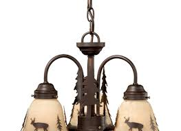 rustic chandeliers canyon 3 light pendantblack forest decor
