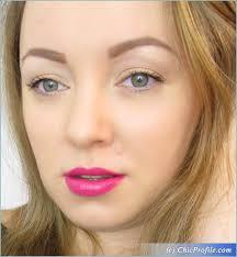 mustaev luminous makeup look urban decay pink lips