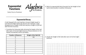 math worksheets exponential functions 11 math worksheets exponential functions from solving exponential equations