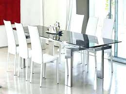 modern gl dining table sets toronto 7 piece set room delectable gla surprising with extension and