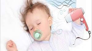 Kolik Bebekler için Fön Makinesi Sesi  Hair Dryer Sound   Lullaby to Relax  and Sleep - YouTube