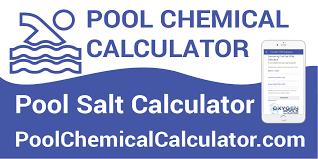 Pool Salt Chart Pool Salt Calculator