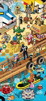 Cartoon iPhone 11 Wallpapers ...