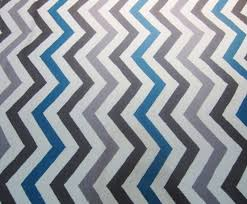 multicolored brown blue and taupe chevron rug by dwell studio