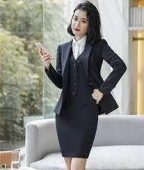 vest and skirt office uniform ladies — международная подборка ...