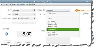 Tracking Time In Quickbooks Part 2 Tax Advisory