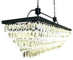 full size of shabby vintage metal crystal chandelier sphere black rectangle the baker rectangular clear home