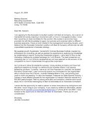 Great Cover Letter For Resume Consulting Cover Letter Sample Unique Management Consulting Cover 40