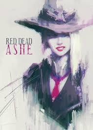 [Fan Art] My <b>Ashe</b> artwork: <b>Red Dead Ashe</b>! : Overwatch