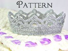 Crochet Crown Pattern Fascinating Free Princess Crown Crochet Pattern Crochet Knitting Ideas