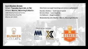 Bunker Labs Atlanta - April Bunker Brews - 9 APR 2019