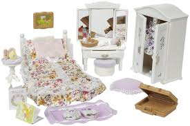 Calico Critters Floral Bedroom Set