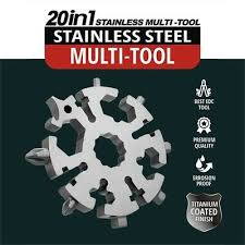 <b>Multi</b>-<b>tool</b> Stainless Snowflake <b>EDC</b> Keychain Tool <b>Screwdriver</b> ...
