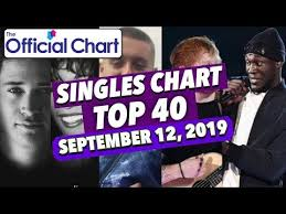 Uk Top 40 Singles Chart September 06 12 2019 Youtube